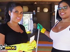 Brazilian maids, Live-in lover Ortega and Kesha Ortega frequently get drilled as opposed to of doing their job