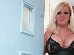Blonde Milf Involving Huge Tits Gets Her Tight Vag Involving Roughly Michelle Thorne
