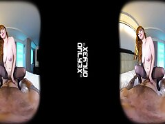 Homemade VR porn video with adorable redhead babe Penny Pax