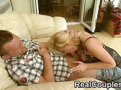 Real Couples Michelle Thorne and Stefan part 2
