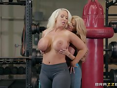 Alura Jenson wants to strive new proceeding be required of reaching advance creep at the gym