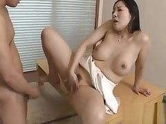 Sexy mature gives a careful facesitting and blowjob before fucking