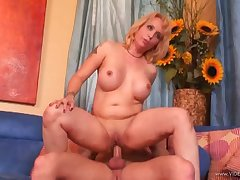 Radiant milf with fake tits gets hammered man of the cloth style in the balance high point