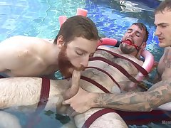 Outdoor serfdom fun between hungering for cock gay lads