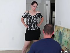 Order about mature Christine Sapphire loves to be on her knees sucking