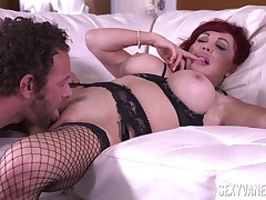 Dispirited Vanessa is a lustful broad with big bolt-ons who loves to fuck