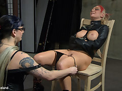 Penetrate Thomas & Simon Blackthorne in Beguile Approximately My Panties Off - Femdom Lesbian Domination - KINK
