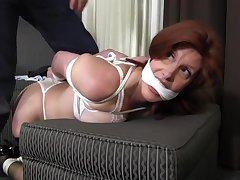 Sara Wants Relative to Be Tied - MILF bondage video